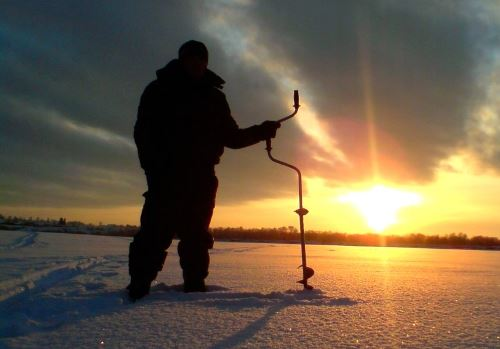 Boers for winter fishing